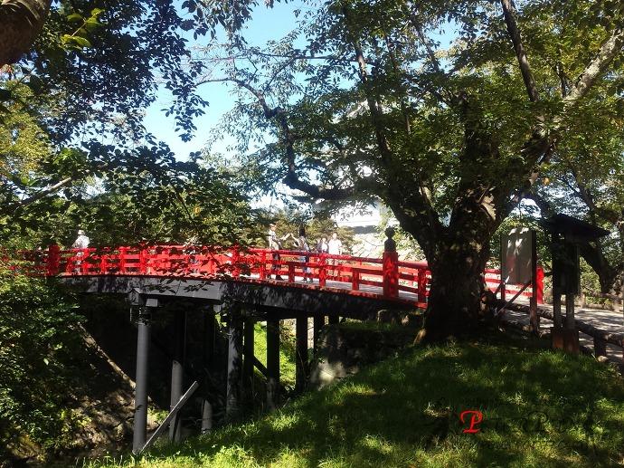 히로사키공원 히로사키성 게죠우바시 弘前公園 弘前城 下乗橋