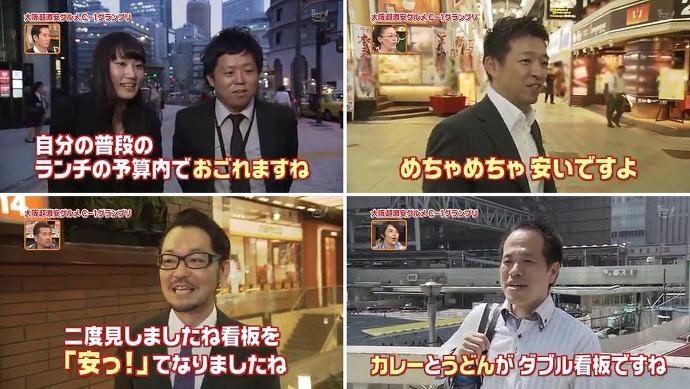 오오사카의 200엔 카레라이스와 100엔 우동/大阪の200円カレーと100円うどん image
