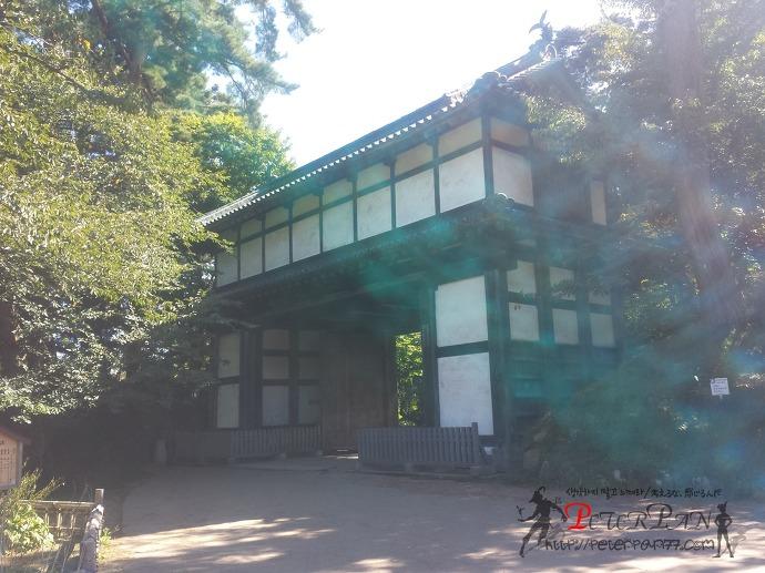 히로사키공원 히로사키성 히가시우치몬 弘前公園 弘前城 東内門