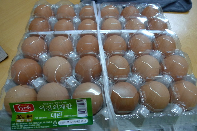달걀 한 판(=계란 한 판)/30歳
