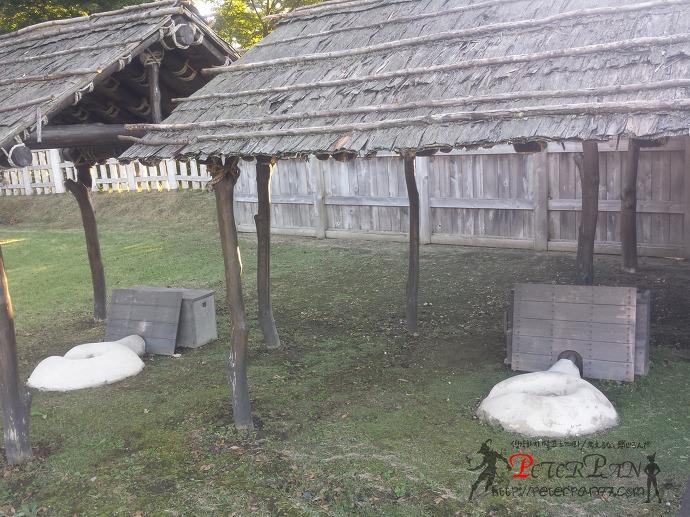네성 혼마루 야외대장간 根城 本丸 野鍛冶場