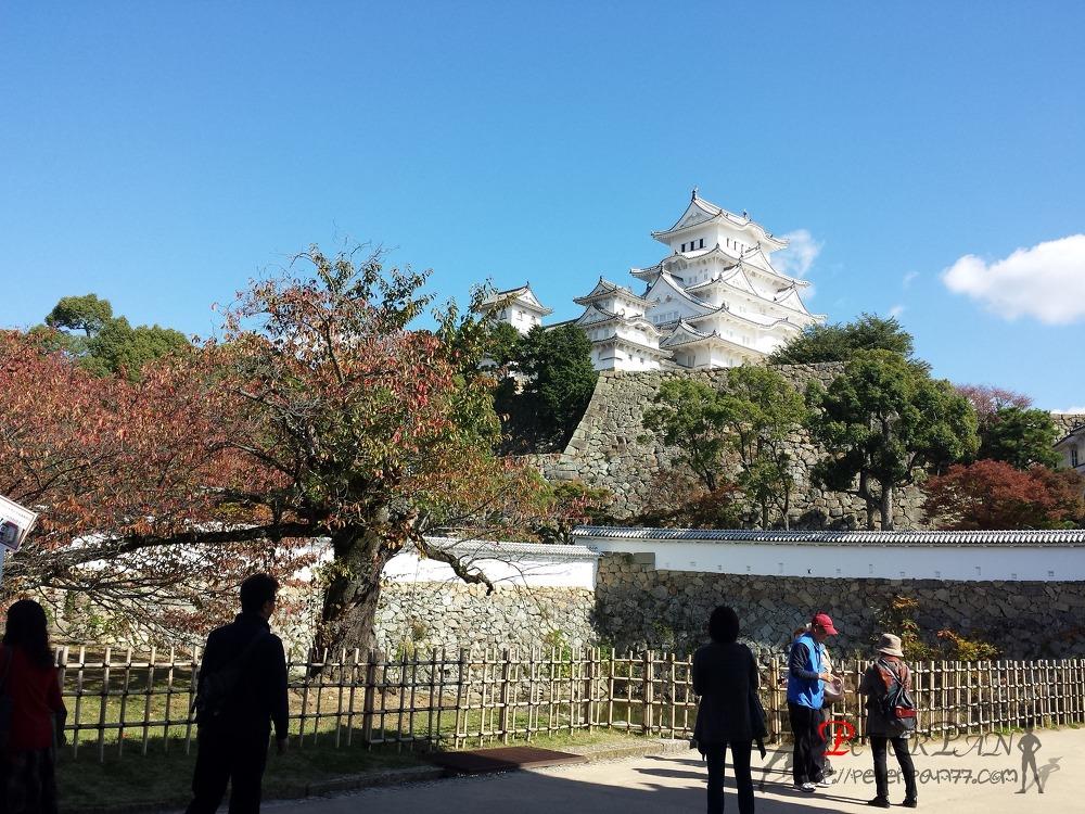히메지성 산고쿠보리 姫路城 三国堀