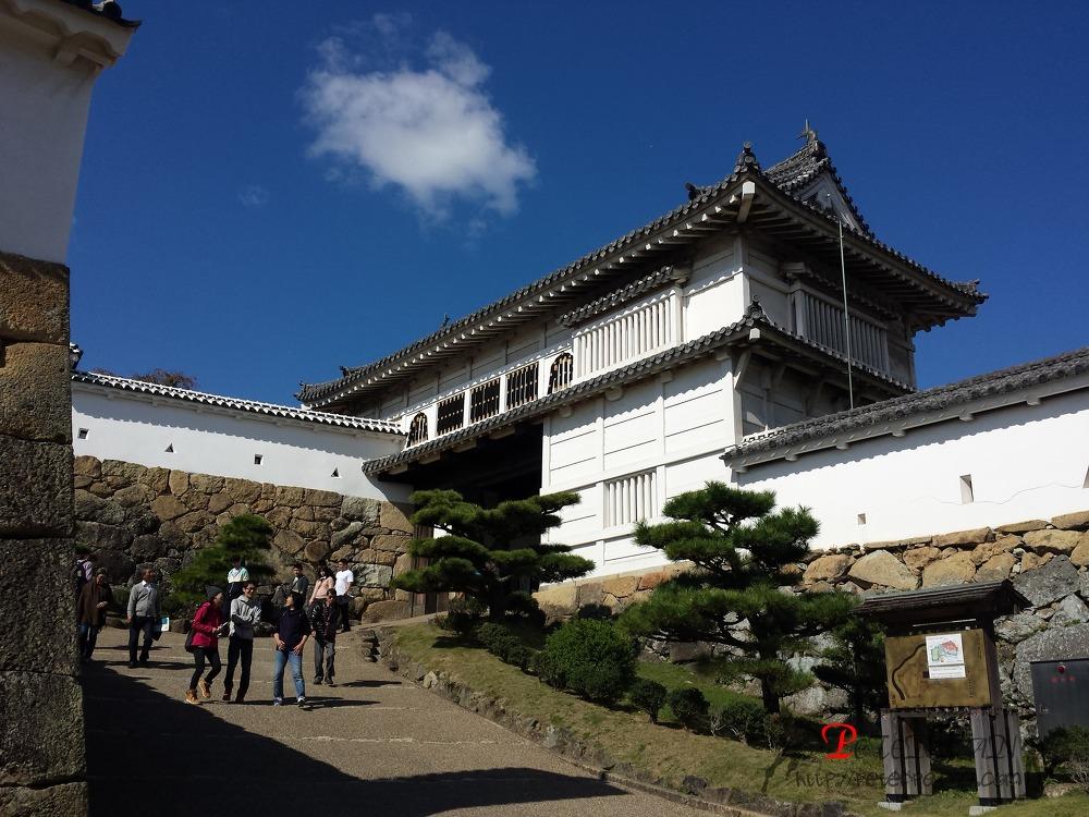 히메지성 히시노몬 姫路城 菱の門