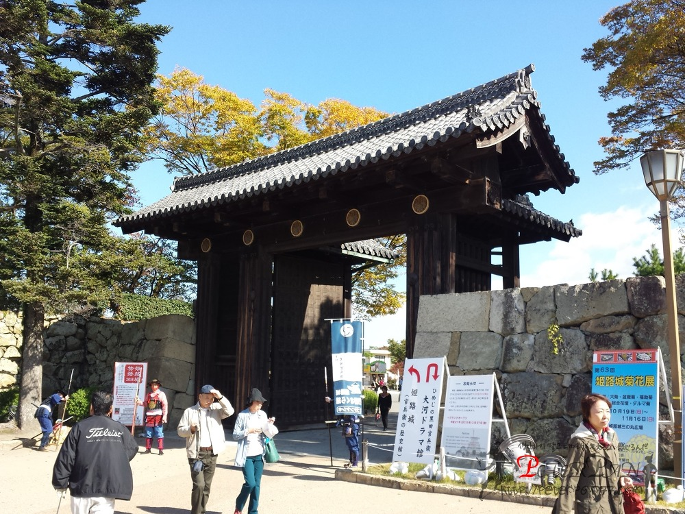 히메지성 오오테몬 姫路城 大手門