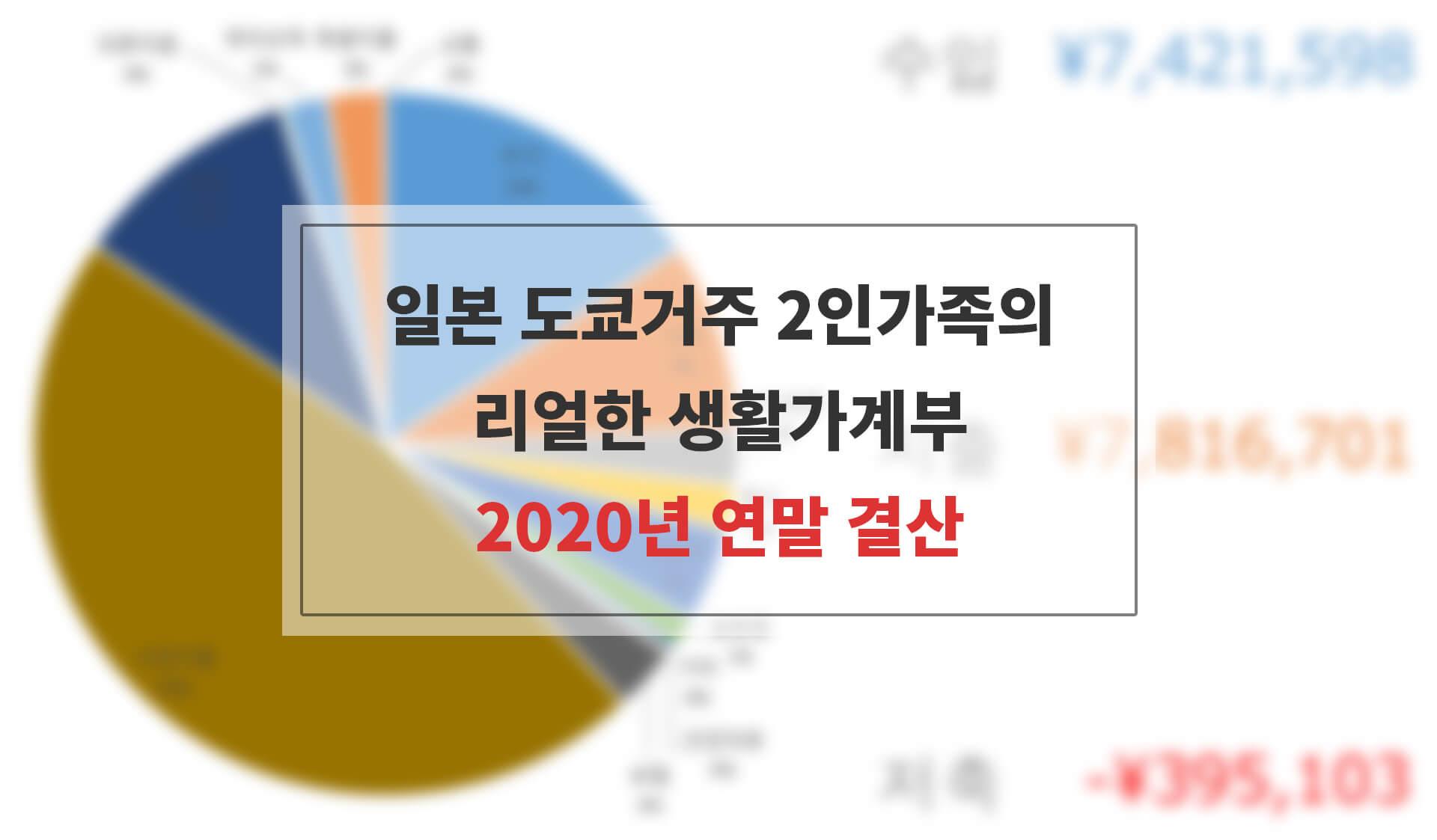 2020년 가계부 연말결산